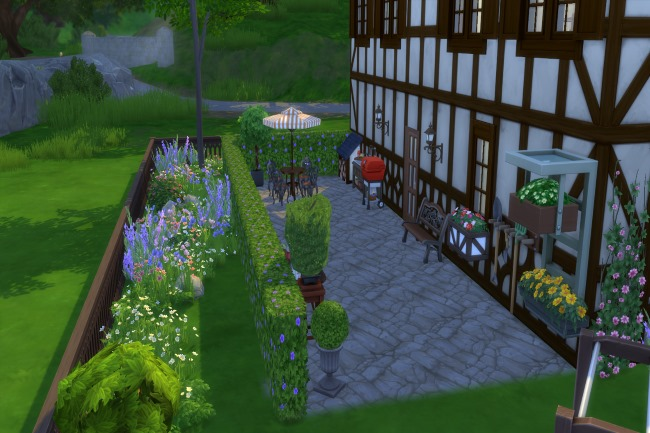 Sims 4 Bettina house by Commari at Blacky's Sims Zoo