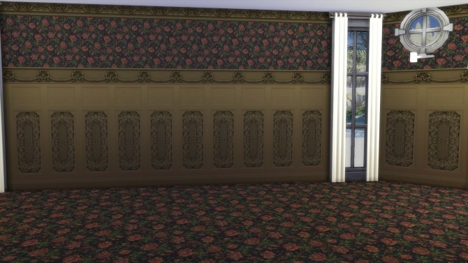 Formal Castle Interior Walls by Christine11778 at Mod The Sims image 6519 670x377 Sims 4 Updates