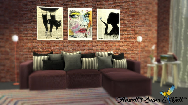 Sims 4 Loui Jover Pictures at Annett's Sims 4 Welt