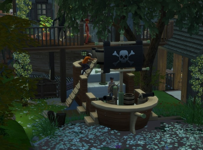 Jungle Adventure All in one lot by artrui at Mod The Sims image 669 670x497 Sims 4 Updates