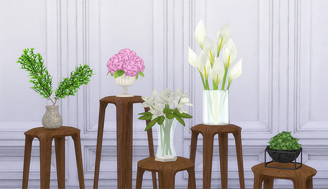 Sims 4 Plant conversions 5 meshes at MIO