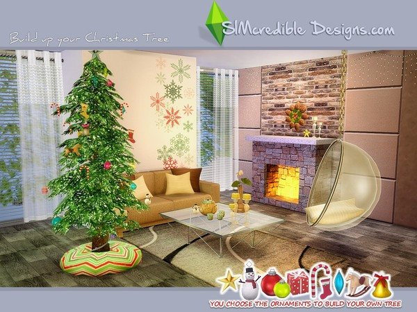 Build up your Christmas tree by SIMcredible! at TSR image 690 Sims 4 Updates