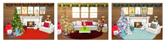 Sims 4 Merry Christmas 2 Collection at Victor Miguel
