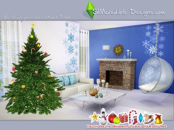 Build up your Christmas tree by SIMcredible! at TSR image 7100 Sims 4 Updates