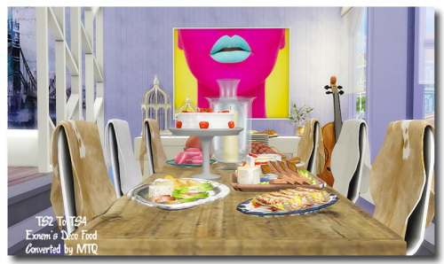 TS2 To TS4 Exnem's Food at Msteaqueen image 7213 Sims 4 Updates