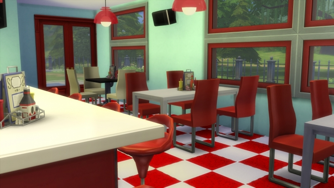 Sims 4 Diner Downloads 187 Sims 4 Updates