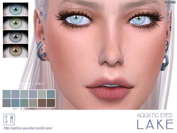 Lake Aquatic Eyes by Screaming Mustard at TSR image 736 Sims 4 Updates