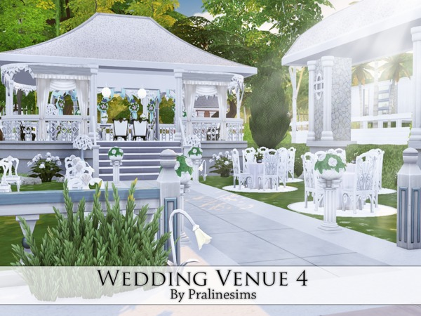 Wedding Venue 3 by Pralinesims at TSR image 746 Sims 4 Updates