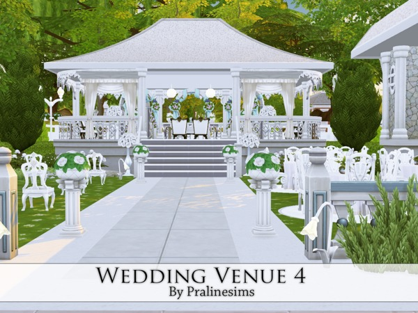 Wedding Venue 3 by Pralinesims at TSR image 756 Sims 4 Updates
