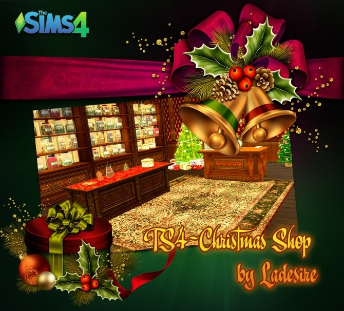 Christmas Shop at Ladesire image 765 670x606 Sims 4 Updates