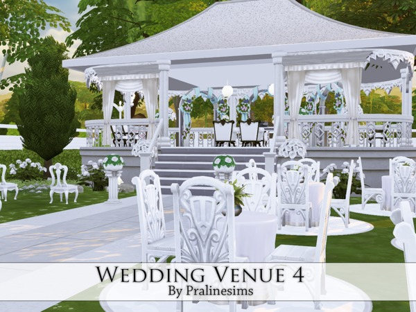 Wedding Venue 3 by Pralinesims at TSR image 766 Sims 4 Updates