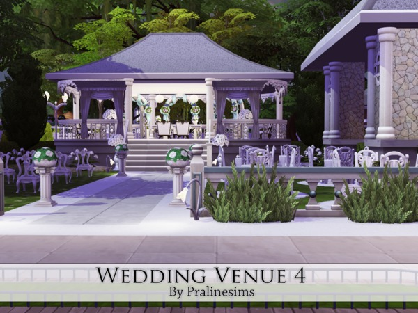 Wedding Venue 3 by Pralinesims at TSR image 776 Sims 4 Updates