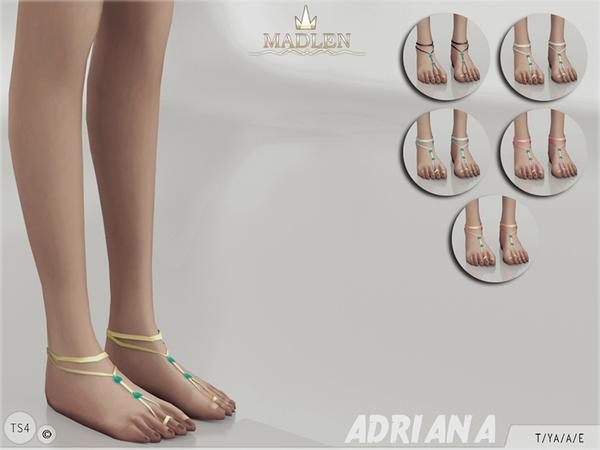 Sims 4 Madlen Adriana Feet by MJ95 at TSR
