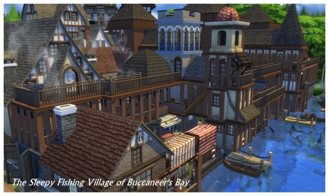 Buccaneer's Bay: Story Build at SimDoughnut image 792 670x399 Sims 4 Updates