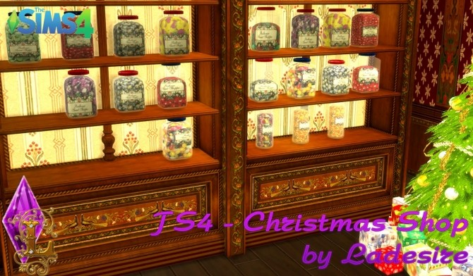 Christmas Shop at Ladesire image 795 670x392 Sims 4 Updates