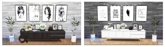 Collection of pictures 8 at Victor Miguel image 80 670x191 Sims 4 Updates