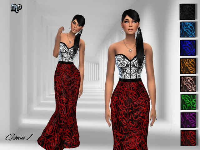 MP Gown N1 at BTB Sims – MartyP image 8019 Sims 4 Updates