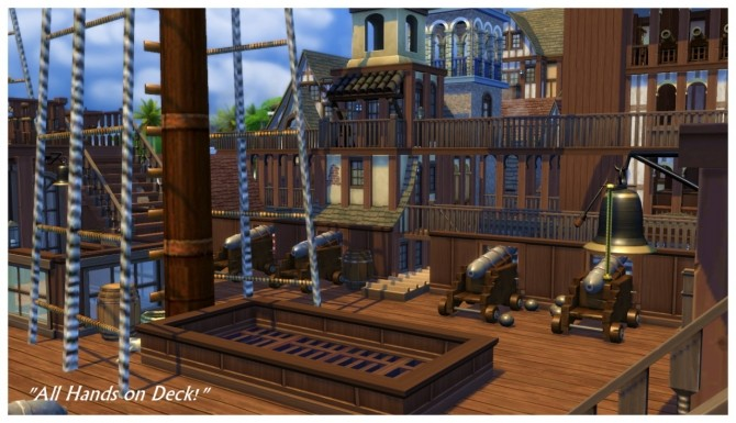 Buccaneer's Bay: Story Build at SimDoughnut image 802 670x385 Sims 4 Updates