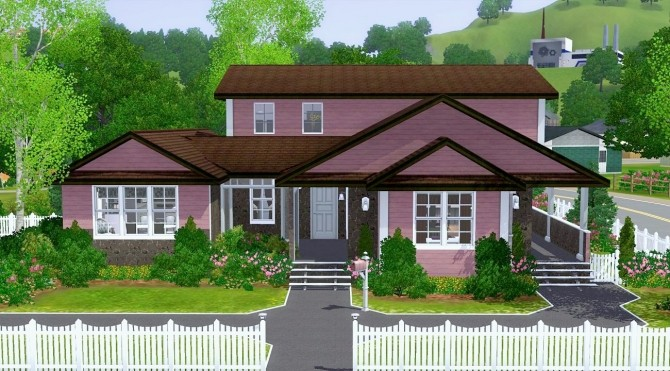 Sims 4 4362 Wisteria Lane house by CarlDillynson at Mod The Sims