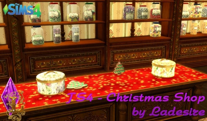 Christmas Shop at Ladesire image 805 670x392 Sims 4 Updates