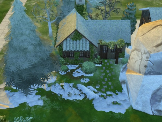 Snow Floor Effect By Artrui At Mod The Sims 187 Sims 4 Updates