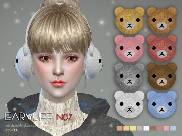 Earmuff N02 by S Club LL at TSR image 8108 Sims 4 Updates