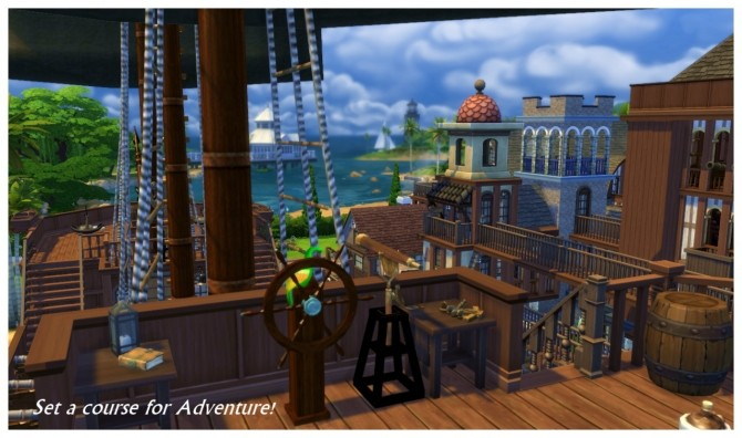 Buccaneer's Bay: Story Build at SimDoughnut image 812 670x396 Sims 4 Updates