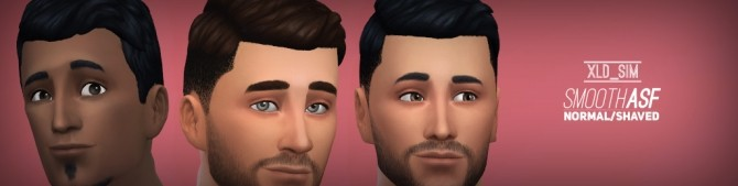 Sims 4 Smooth AsF Hair by Xalder at Mod The Sims