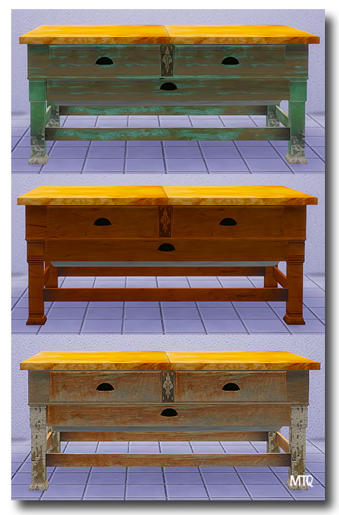 Sims 4 Sillymee's Possumbelly Baking Decor & Butcher Block Table at Msteaqueen