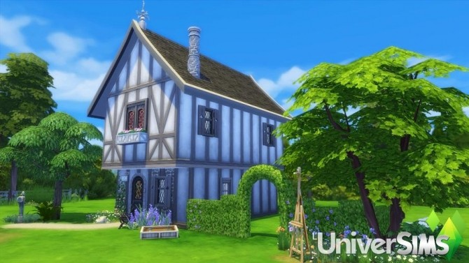 Sims 4 The Little Cottage by MatSims Créa at L'UniverSims