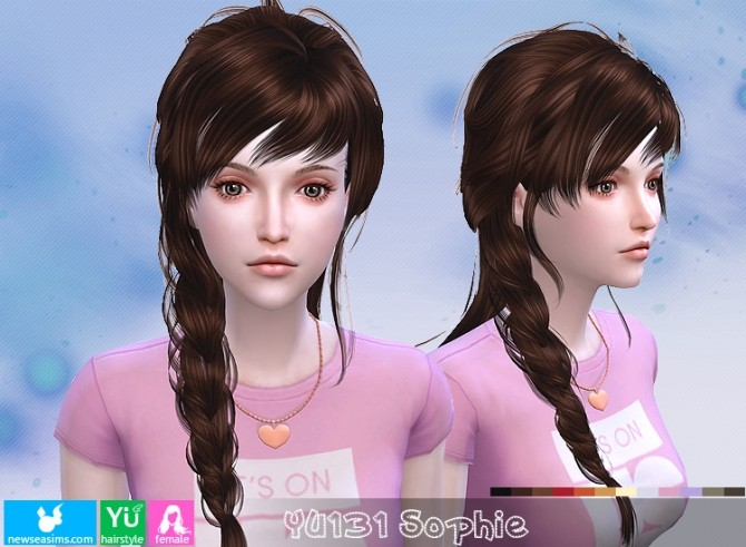 Sims 4 YU131 Sophie hair (PAY) at Newsea Sims 4