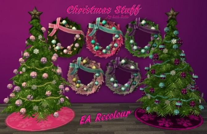 Sims 4 CHRISTMAS STUFF FOR GIRLS at Lisa Sims