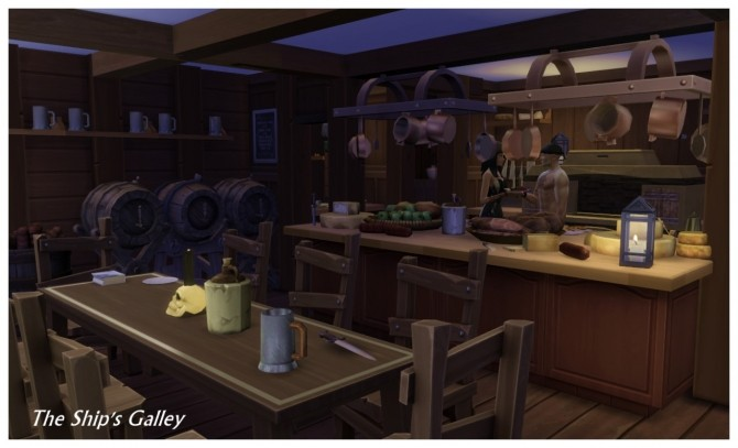 Buccaneer's Bay: Story Build at SimDoughnut image 832 670x407 Sims 4 Updates