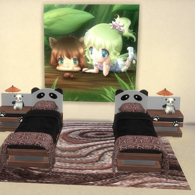 3D Brown rug at Trudie55 image 84 Sims 4 Updates