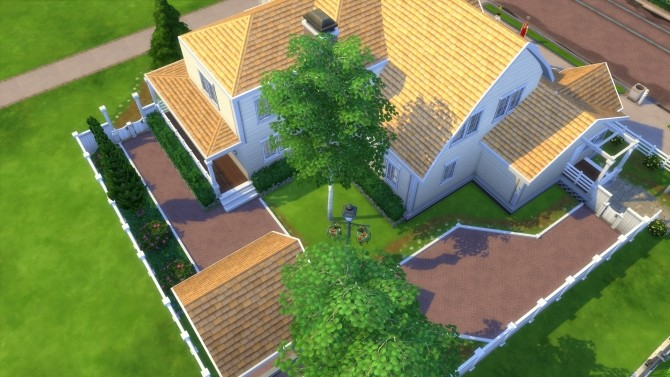 Sims 4 4353 Wisteria Lane house by CarlDillynson at Mod The Sims