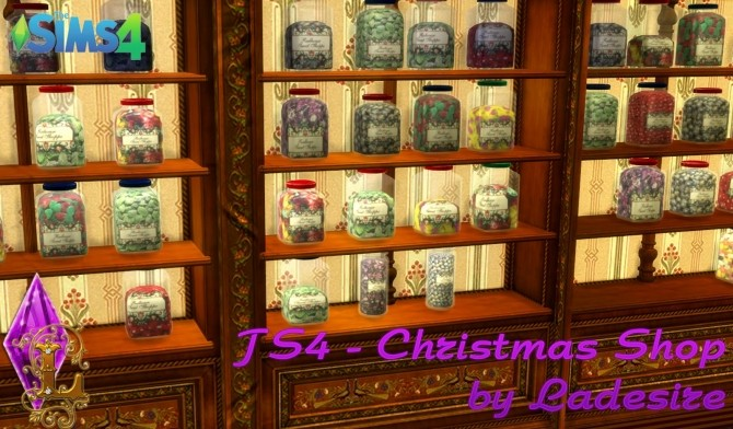 Christmas Shop at Ladesire image 854 670x392 Sims 4 Updates