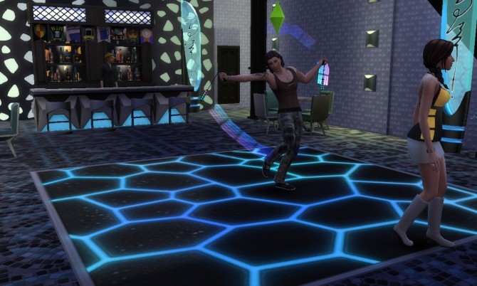 Future Night Club At Tatyana Name 187 Sims 4 Updates