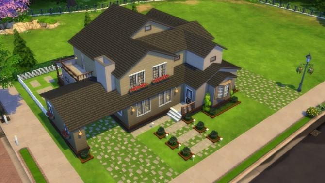Sims 4 Maylenderton Craftsman by CarlDillynson at Mod The Sims