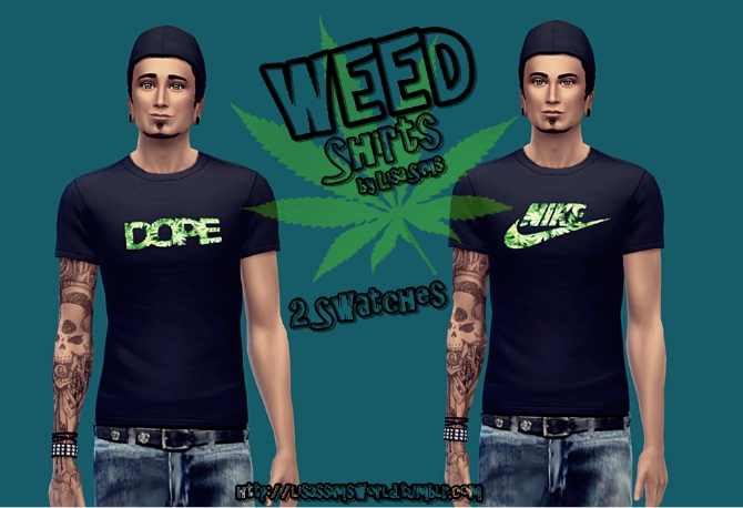 Weed Shirts At Lisa Sims 187 Sims 4 Updates