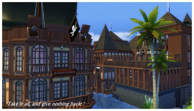 Buccaneer's Bay: Story Build at SimDoughnut image 872 670x384 Sims 4 Updates