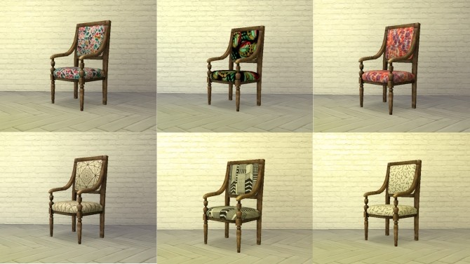 Sims 4 Luxury & Comfort Hotel Chair by Ooh la lá at Mod The Sims
