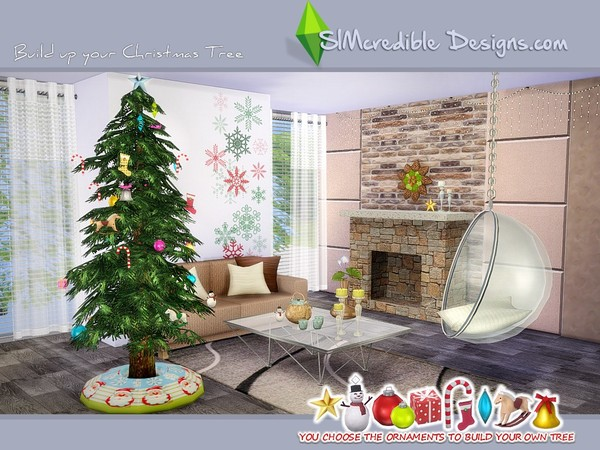 Build up your Christmas tree by SIMcredible! at TSR image 880 Sims 4 Updates