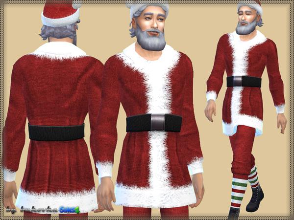 Sims 4 Set Santa Claus by bukovka at TSR