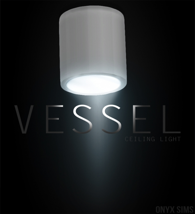 Ceiling Lamp The Sims 4: Vessel Light At Onyx Sims » Sims 4 Updates