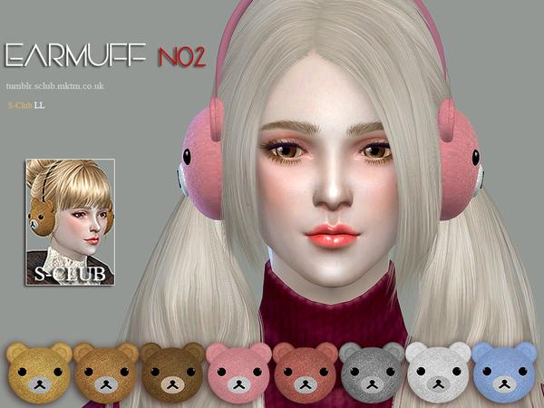 Earmuff N02 by S Club LL at TSR image 9107 Sims 4 Updates