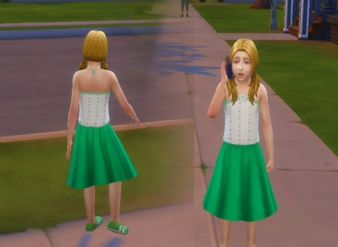 Round Skirt Solid Colors at My Stuff image 935 670x490 Sims 4 Updates