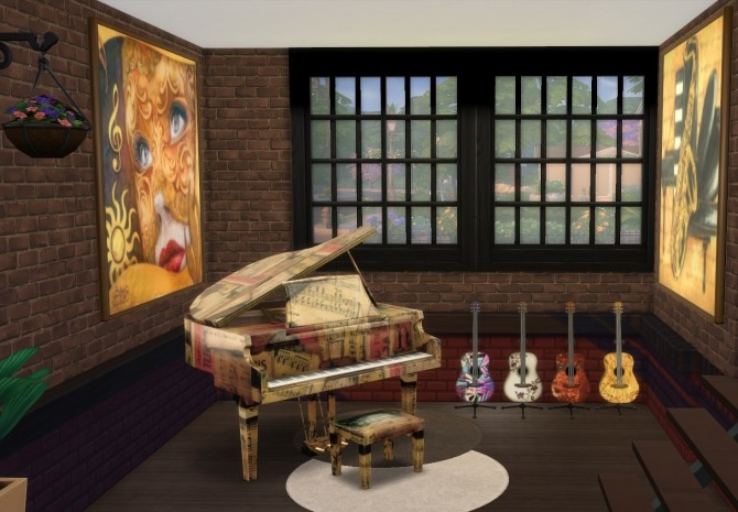 Music Room At Pqsims4 187 Sims 4 Updates