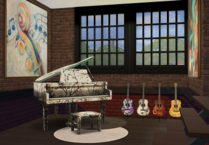 Music Room at pqSims4 image 9519 670x465 Sims 4 Updates