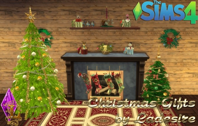 Sims 4 Christmas Gifts at Ladesire
