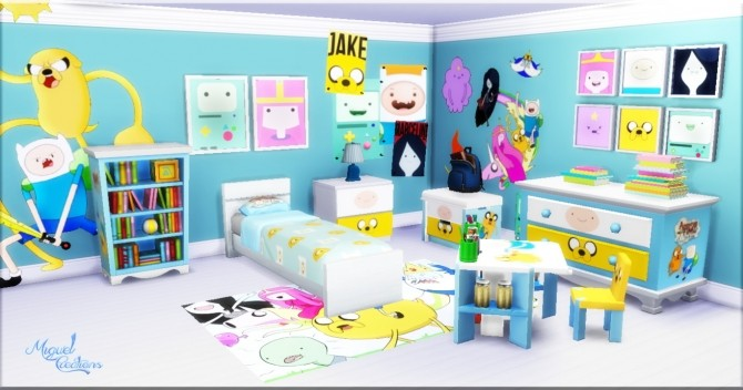 Bedroom Adventure Time at Victor Miguel image 1007 670x352 Sims 4 Updates